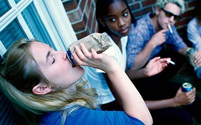 Проблемные подростки - Алко-помощь