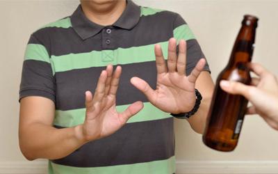 Больной будет избегать алкогольную продукцию - Алко-помощь