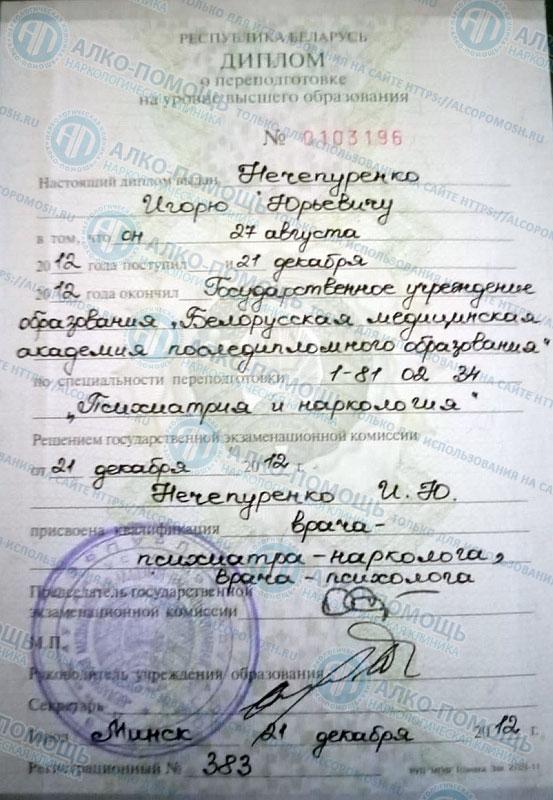 Нечепуренко - Диплом