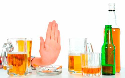 Полностью отказаться от использования алкогольных напитков - Алкопомощь