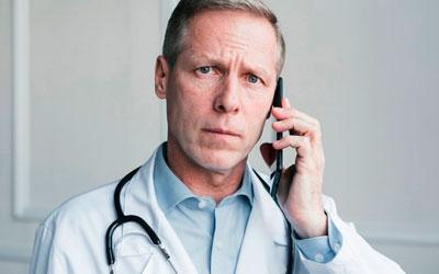 Позвонить своему врачу в клинику - Алкопомощь